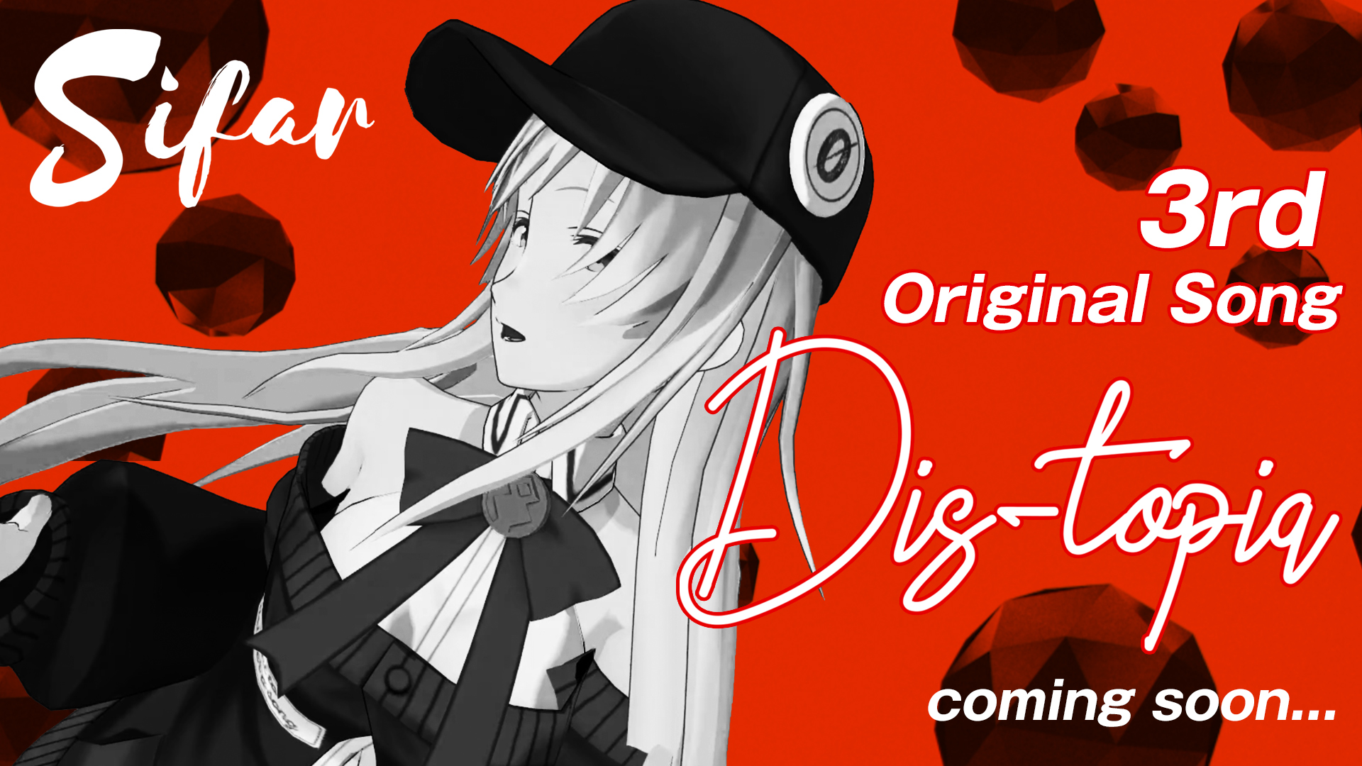 VSinger / Sifar  3rdシングル「Dis-topia」楽曲&MVを制作!